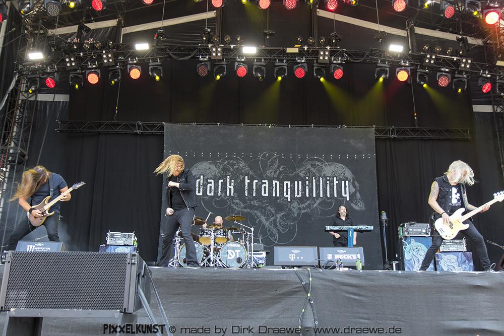 Dark Tranquility live @ Wacken 2018